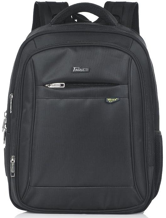 dc4168a570c7 Amazon.com  Taikes Expandable Backpack 15.6 Inch Laptop School Travel Bag  Men Women - Black  Shoes