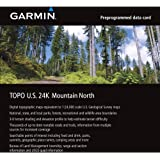 Garmin TOPO U.S. 24K - Mountain North microSD Card