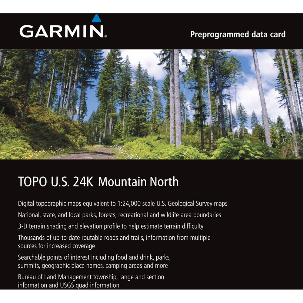 TOPO US K West Garmin Garmin Topo Maps EBay TOPO US K - Garmin topo us 24k northeast dvd maps
