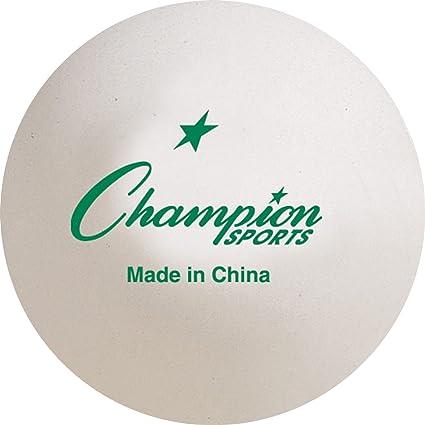 Amazon.com: chmapion Deportes 40 mm Torneo pelota de tenis ...