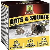 KB Blocs Appat Anti Rats et Souris 240 gr