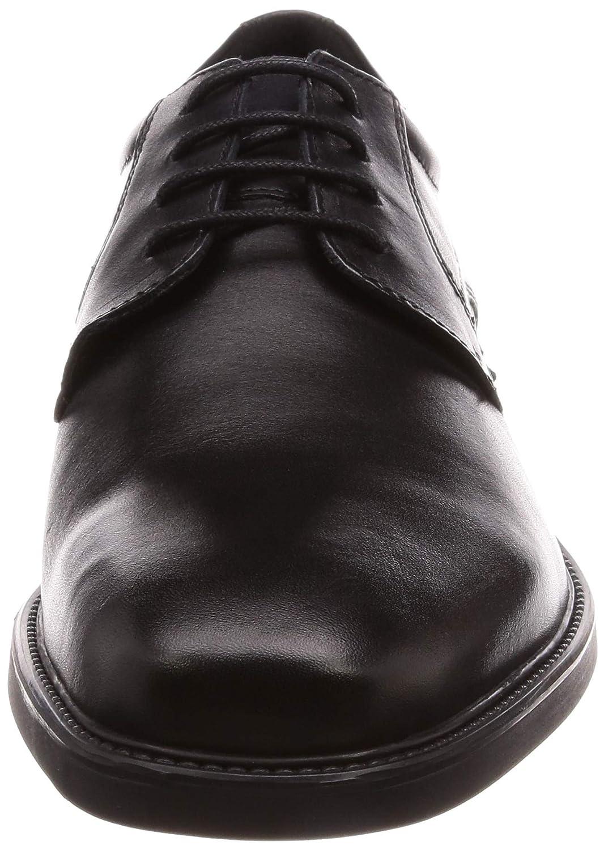 Geox Herren U BRANDOLF U844VC Herren Geox Businessschuh,Männer Halbschuh,Schnürschuh,Schnürer,Derby Schnürung,Business-Schuh,Anzugschuh,Office-Schuh Schwarz 8ed225
