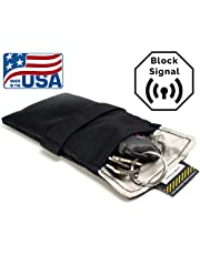 "Signal Tactics Key Fob Faraday Bag - Military-grade auto and anti-hacking security bag! Shield your key fob from duplication and the auto""relay hack"" with this signal shielding faraday bag!"