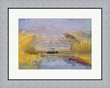 Amazon.com: The Fountains at Versailles by J.M.W. Turner Framed Art ...