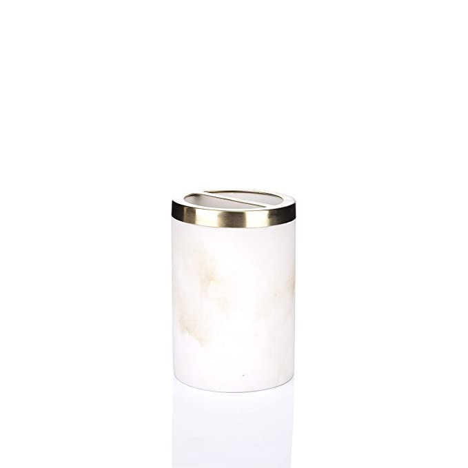 Amazon.com: YangshiMoeed Bathpro Marble Golden 16 oz Soap/Lotion Dispenser(Silver): Home & Kitchen