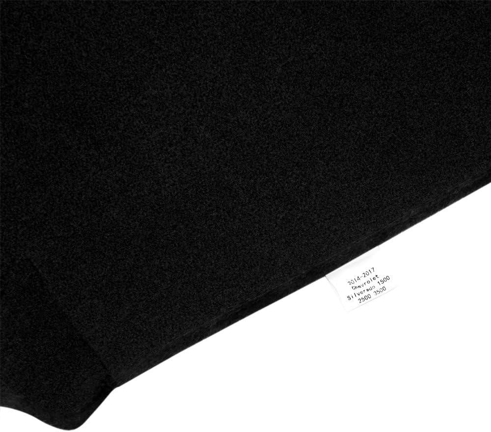 MR069 Gray JIAKANUO Auto Car Dashboard Carpet Dash Board Cover Mat Fit Ford F150 2015-2018