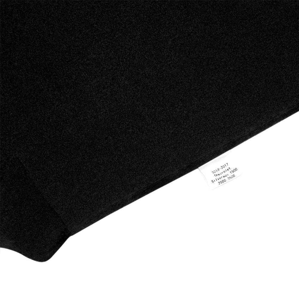 Black MR-062 JIAKANUO Auto Car Dashboard Carpet Dash Board Cover Mat Fit Toyota Sienna 2004-2010