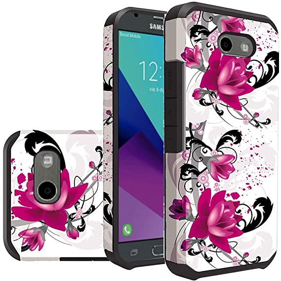 For Samsung Galaxy J3 ECLIPSE Case, Galaxy J3 Emerge Case, Galaxy J3 Prime  Case, Galaxy J3 J327P (2017) Case, Galaxy Express Prime 2/J3 Luna Pro Case
