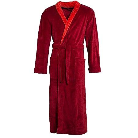 Da Donna /& Uomo Bagno Cappotto con cappuccio Sauna Cappotto Vestaglia in microfibra unisex
