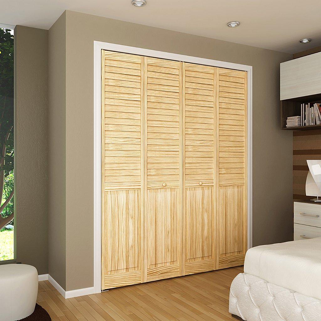 Bi-fold Door, Louver/panel Style 1x32x80