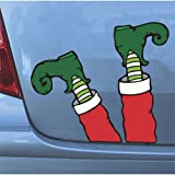 Elf Legs Magnets: Hilarious Christmas Automobile Decoration by Mad Mags