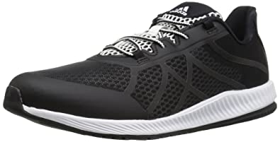 reputable site 672dd ac969 adidas Women's Gymbreaker Bounce B Cross-Trainer Shoes, White/Black, ((