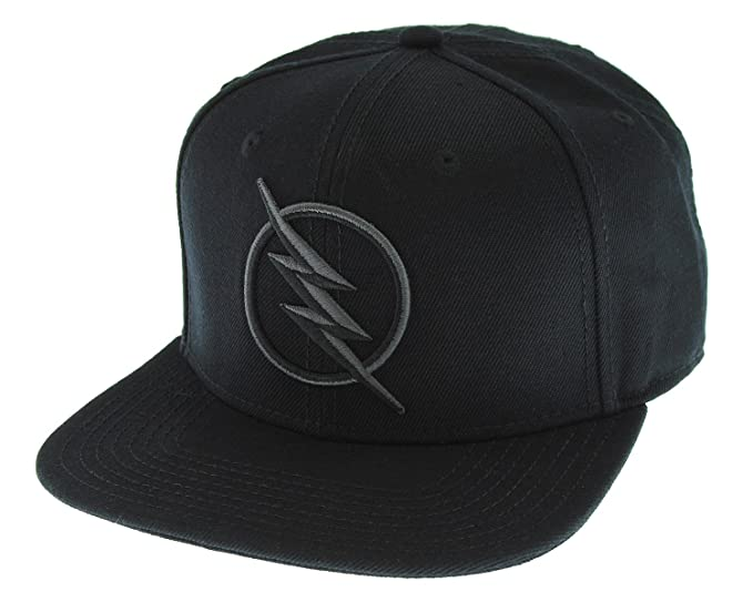 a072ab39c61 DC Comics Black Flash - Zoom Licensed Embroidered Logo Snapback Cap ...