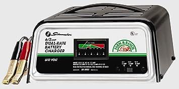 Amazon Com Schumacher Se 3002 Dual Rate 2 6 Amp Manual Charger