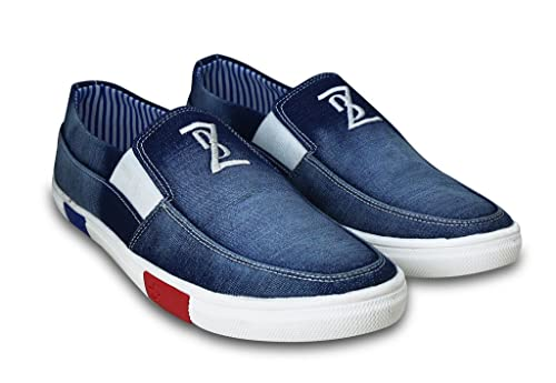 a39bc2e6962 BEONZA Men Premium Blue Denim Jeans Casual Stylish Loafers Shoes -6-BZDP023-DenimJEANS 6