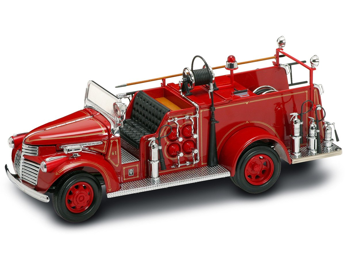 Yat Ming Scale 124 1941 Gmc Fire Truck Toys Games Pickup