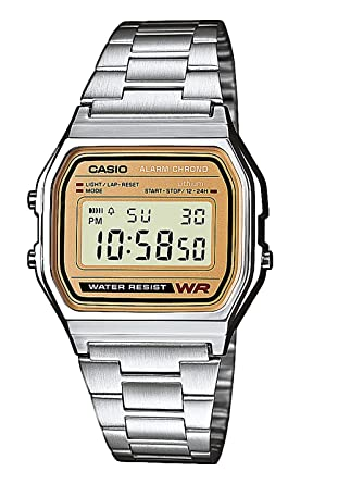 1c04fc71429 Casio Collection Unisex Adults Watch A158WEA-9EF: Amazon.co.uk: Watches