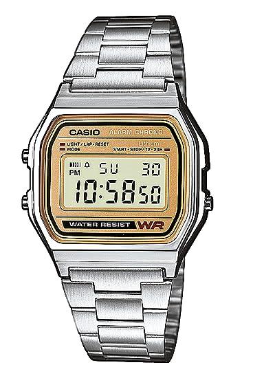fd0d610bc32f Casio Reloj de Pulsera A158WEA-9EF  Amazon.es  Relojes