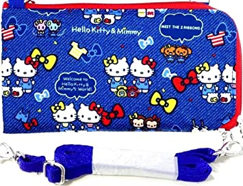 279c9d0a3 Image Unavailable. Image not available for. Color: Hello Kitty Long Wallet  Passport Holder Travel Document Organizer Bag Case Crossbody