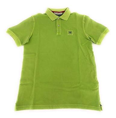 MANUEL RITZ Polo Hombre Color Verde Verde M: Amazon.es: Ropa y ...