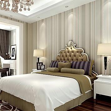 3dTapete/Plain Schlafzimmer Tapeten/gestreifte Tapete/Vliestapete/einfarbigen  Tapete/einfache Und
