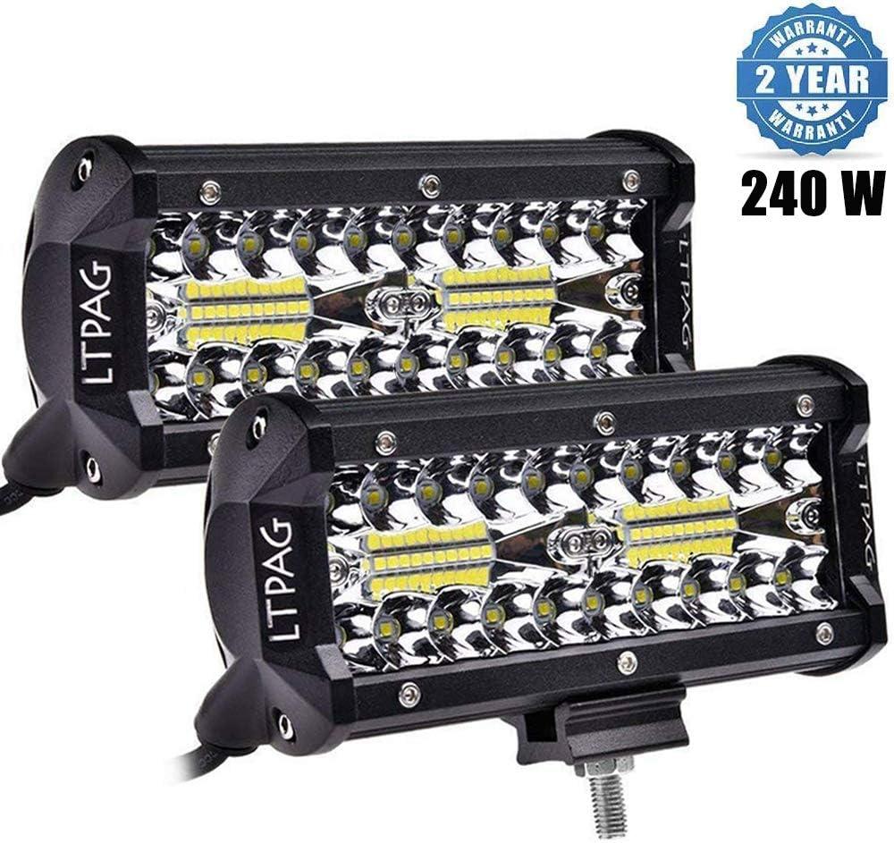 LTPAG 2pcs Focos LED Tractor, 7