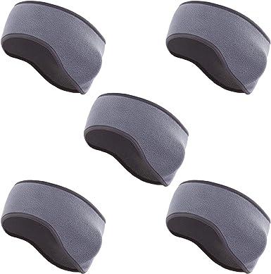BBTO 6 Pieces Ear Warmer Headbands Winter Ear Muffs Headband Sports Full Cover Headbands for Outdoor Activities Sports Fitness