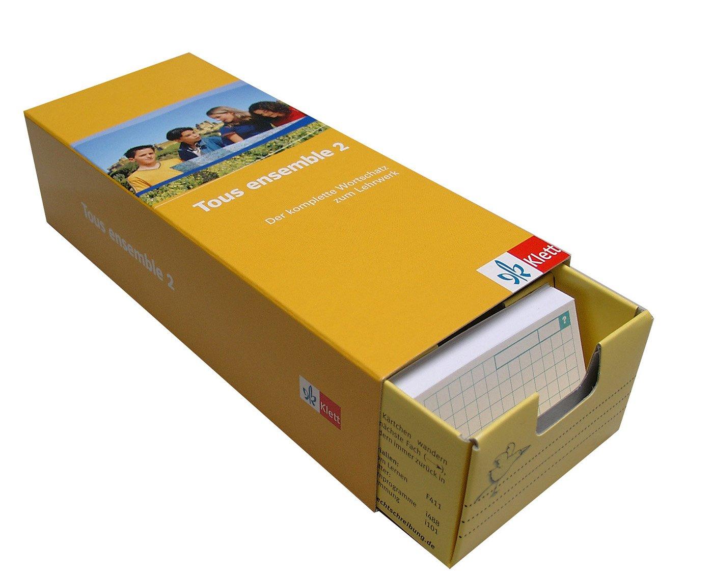 Tous Ensemble 2 - Vokabel-Lernbox zum Schülerbuch: 2. Lernjahr passend zum Lehrwerk