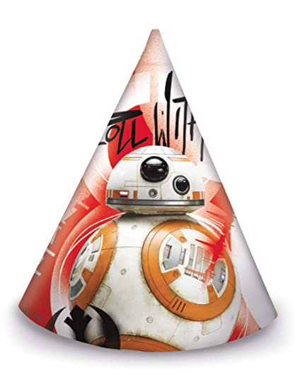 COOLMP - Juego de 12 Sombreros de Fiesta Star Wars 8 The ...