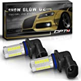 OPT7 Show Glow G2 9005 LED Fog Light Bulbs - 6000K Cool White @ 395 Lms per bulb - All Bulb Sizes and Colors - 1 Year Warranty (Pack of 2)