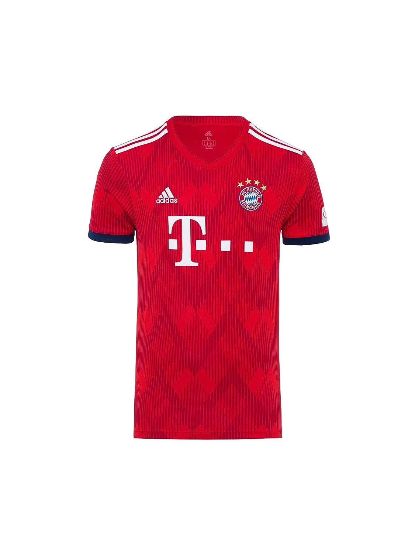 Jersey 18//19 FC Bayern M/ünchen Trikot Home Kinder R/ückennummer mit Unterschriften Flock