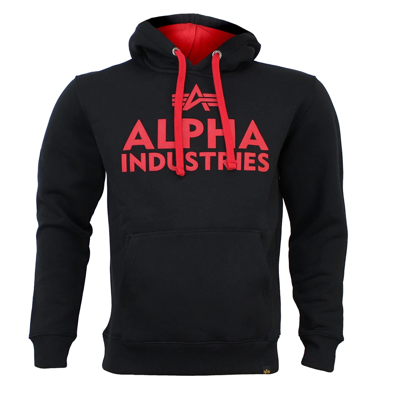 Alpha Industries Sweatshirt FOAM PRINT HOODY schwarz