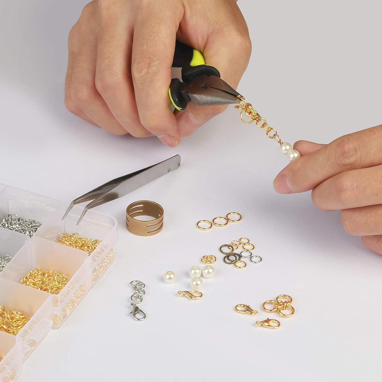 Earring Making Supplies 2416pcs Jewelry Kits Backs Hooks Posts For DIY Adults