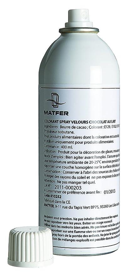 Spray profesional. color marrón terciopelo, color negro: Amazon.es