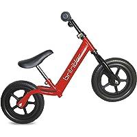 Brilrider AF Balance Bike - Bicycle. India's Favourite Balance Bikes! (Red)