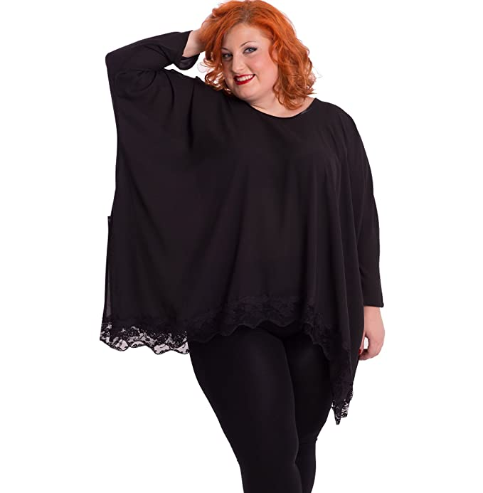 Susana Escribano 1617BL002-M-42, Blusa para Mujer, Negro, 42 (