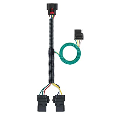 CURT 56429 Vehicle-Side Custom 4-Pin Trailer Wiring Harness, Select Chevrolet Equinox, GMC Terrain: Automotive