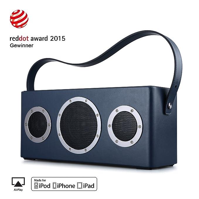 40W Altavoces Bluetooth Inalámbricos WIFI Sonido Estéreos Subwoofer Extra Bass Altavoz Inteligente Música Streaming Batería Incorporada