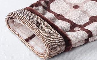 ACVXZ Conjuntos De Pijama para Hombre Otoño/Invierno Cálido Franela Conjuntos Home: Amazon.es: Ropa y accesorios