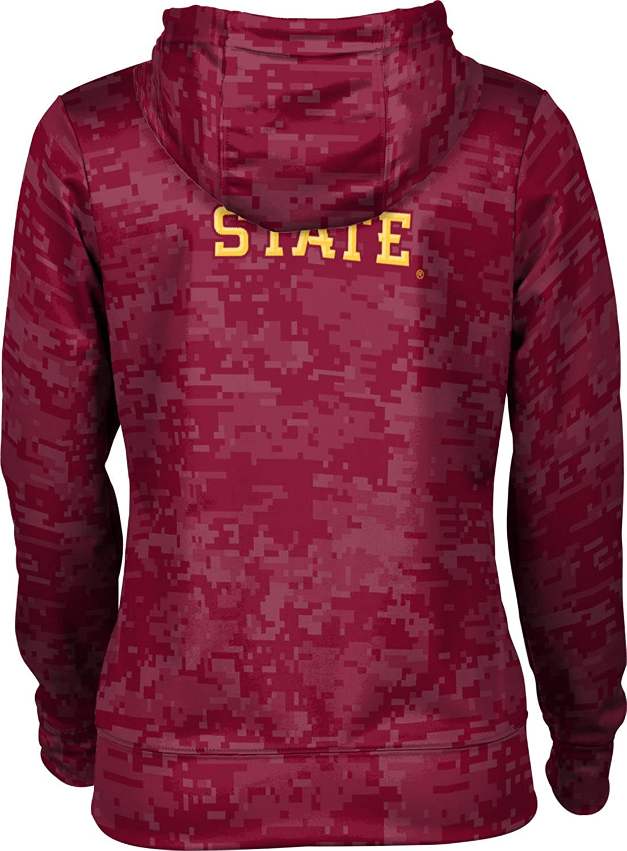 School Spirit Sweatshirt ProSphere Iowa State University Womens Pullover Hoodie Digi Camo