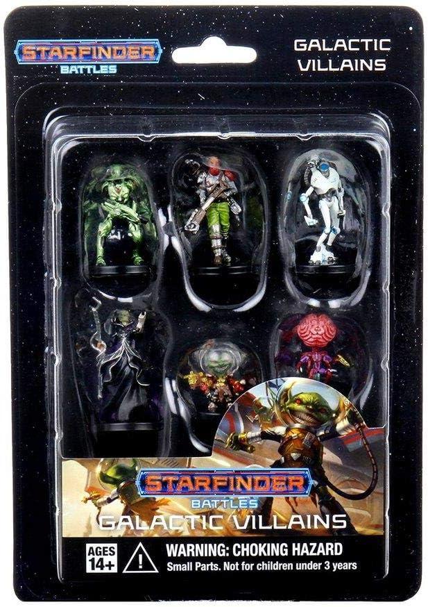 Starfinder Battles Miniatures: Starter Pack: Monster Pack