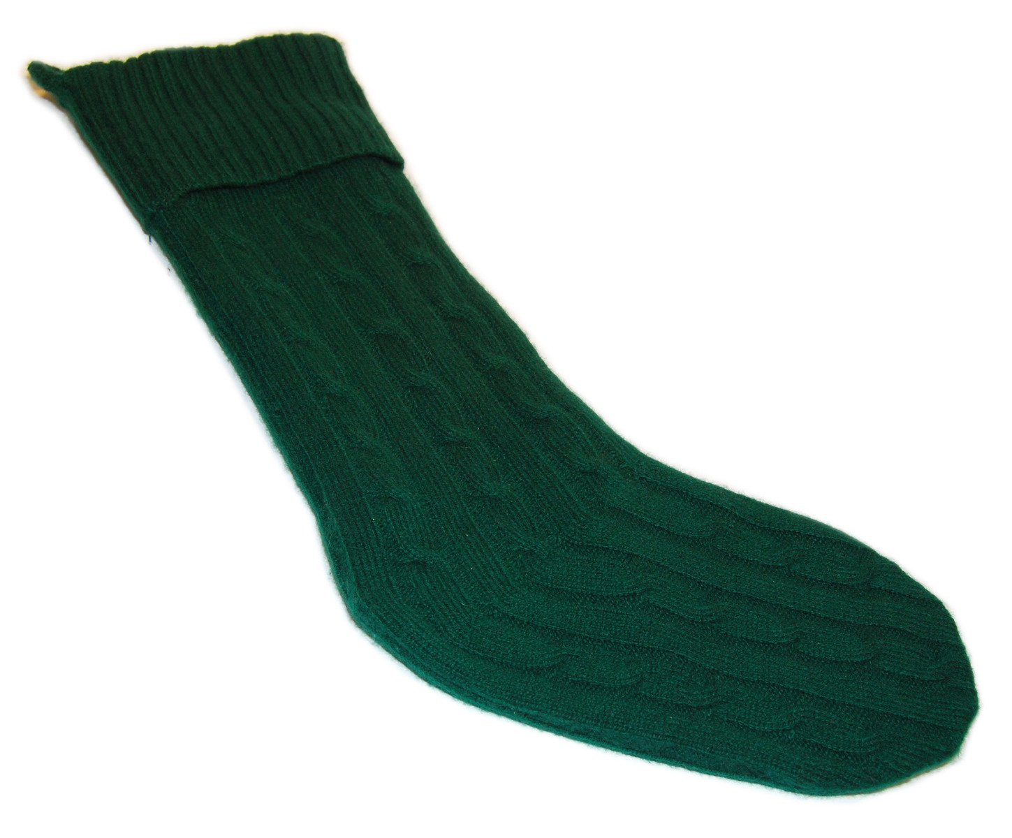 Polo Ralph Lauren Home Cable Cashmere Christmas Holiday Luxury Stocking Green