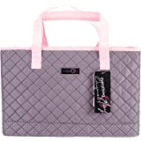 Everything Mary Deluxe Quilted Pink & Grey Sewing Machine Carrying Case - Sewing Machine Cover Case