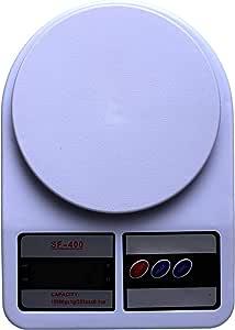 ميزان مطبخ اليكتروني SF-400، ابيض