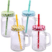 Schramm® Paquete de 4 Vasos con Tapa, asa