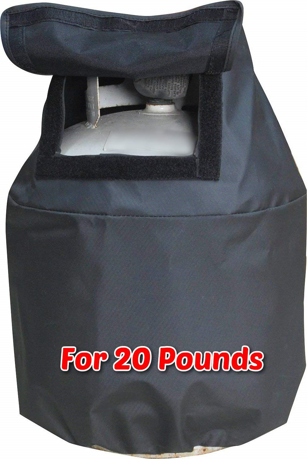 RV Propane Tank Cover for 20 Pounds 20Lb Cylinder Heavy Duty Polyester UV Resistant Strong and Durable, RV and Outdoor Accessories & Free Ebook by Stock4All
