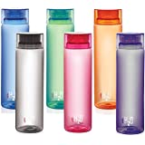 Cello H2O Unbreakable Bottle, 1 Litre, Set of 6