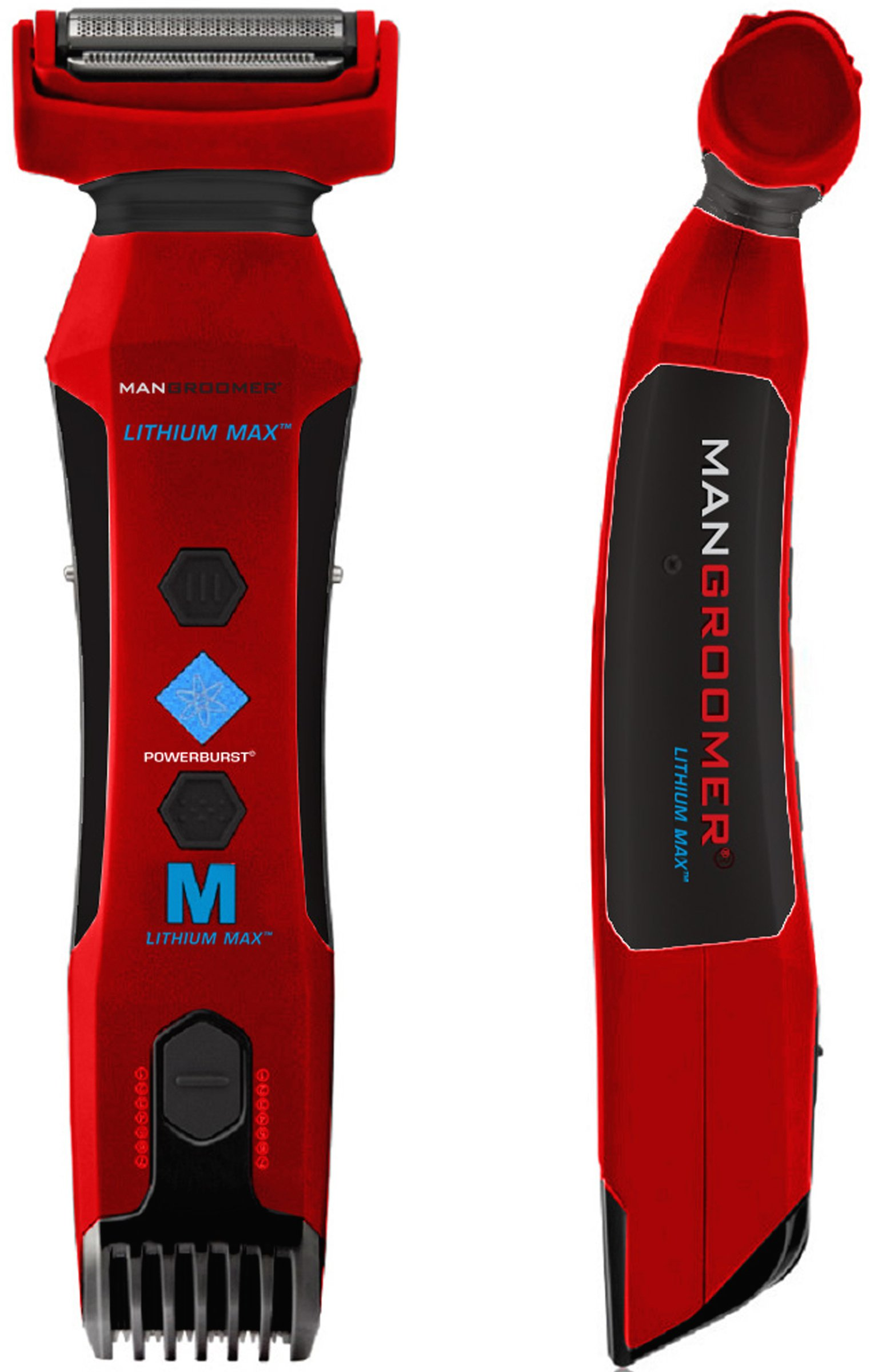 MANGROOMER Lithium Max Body Groomer and Body Trimmer with Power Burst by MANGROOMER