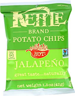 product image for Kettle Brand Potato Chips - Jalapeno - Hot - 1.5 Oz - Case of 24
