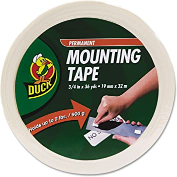 """19mm 3//4/"""" DOUBLE SIDED ROUND FOAM TAPE disc Permanent Adhesive 1//16/"""" thick"""